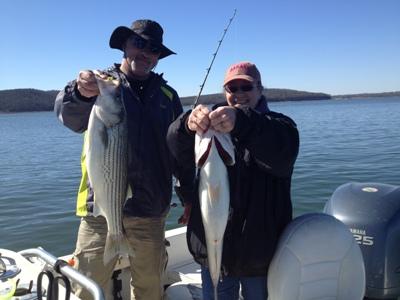 Cross creek striper guide service striper fishing guide for Striper fishing lake texoma